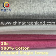 Cotton Combed Knitting Single Jersey Fabric for Bedsheet Textile (GLLML419)