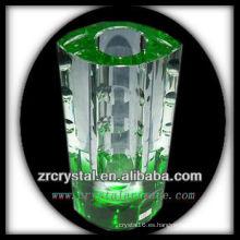 Bonito vaso de cristal L020