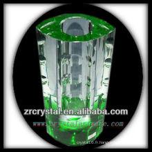 Beau vase en cristal L020