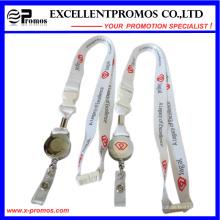 Cordón con logotipo personalizado y bobina de la insignia (EP-Y581414)