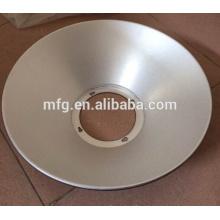 De alta precisión de dibujo profundo y perforación de piezas de placa de aluminio