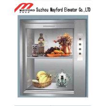 Edelstahl-Dumbwaiter-Aufzug mit Maschine Raumlos