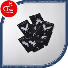 Étiquette tissée par coutume / étiquette principale de haute qualité pour des jeans