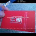 Film Laminierung Papier cool Visitenkarte Druck