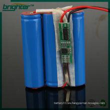 Recargable de iones de litio 3.7v 14500 2200mah batería