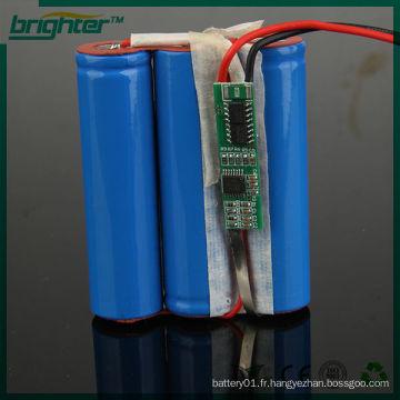 Batterie rechargeable au lithium 3.7v 14500 2200mah