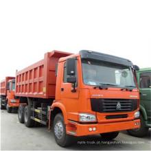 China Marca Sinotruk HOWO 8X4 caminhão basculante
