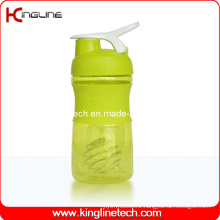500ml Plastic Blender Shaker Bottle with Stainless Blender Mixer Ball (KL-7064)