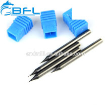 BFL End Mill For Cutting Gold,Carbide Miniature End Mill For Cutting Copper
