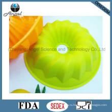 Пользовательские круглые силиконовые Пан Muffin пресс-формы для выпечки Sc07