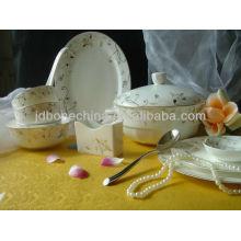 Таиланд королевской кости фарфора посуда набор, сделанный в Китае