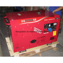 Generador diesel silencioso y portátil 10kVA