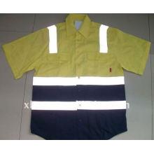 Chemises à manches courtes anti-moustiques et insectes pour travailleurs Chemises à manches courtes anti-moustiques et insectes pour travailleurs