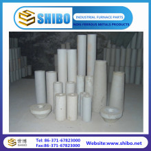 Customized Size of 99% Purity Alumina Ceramic Tubes Alumina Pipes