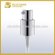 Pompe à lotion en aluminium / pompe à crème en aluminium de 16 mm