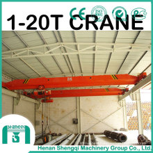 Explosion Proof Electric Single Girder Bridge Crane 16 Ton