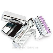 Kundenspezifischer Großhandelsqualitäts-Metalllippenstift-Kasten mit Spiegel