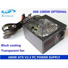 600W 12cm Lüfter Serie ATX Computer Stromversorgung PC Stromversorgung SMPS