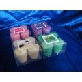 Candele votive Unscented Candles Tealight Candles