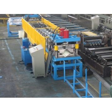 Aluminium metalen dak Ridge Cap Roll vormen Machine