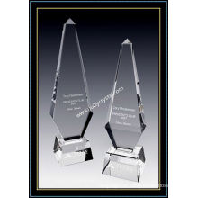 Grande Obelisco De Cristal Prêmio Paramount Tower 12 Polegada De Altura