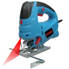 Electric jig saw with blade