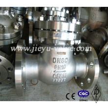 Pn10 Ss CF8m Válvula de retención oscilante con brida