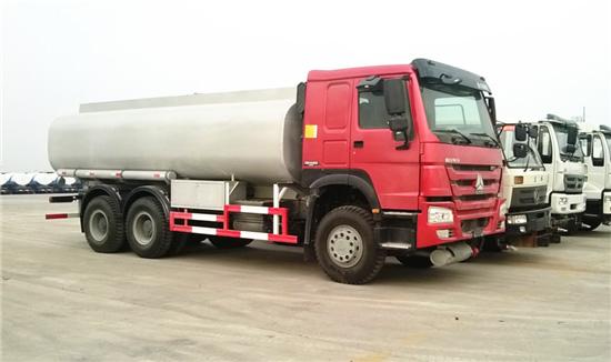 6x4 Fuel Tank Truck