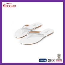 Großhandel Strass Frauen Flip Flops Sandalen Hausschuhe