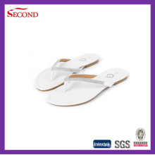 En gros strass femmes tongs sandales pantoufles