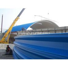 Arch Steel Metal Sheet Building Machine/Arch Machine Metal K Building System