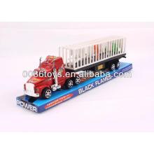 35CM com 3 animais impressos Tractor caminhão de reboque carros de fricção