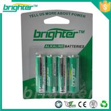 Bateria alcalina 1.5V aa lr6 para provari mini