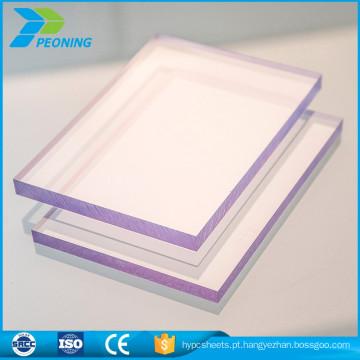 Última moda top sell 25mm lexan policarbonato twin wall sheet expectativa de vida preço