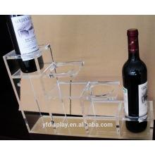 Titulaire de vin acrylique de qualité supérieure pour vendre