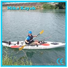 Professional Plastic Canoe Fishing Kayak Con Pedali