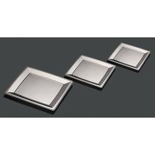 Hartplastik Rechteckige Party Silber Beschichtung Platte