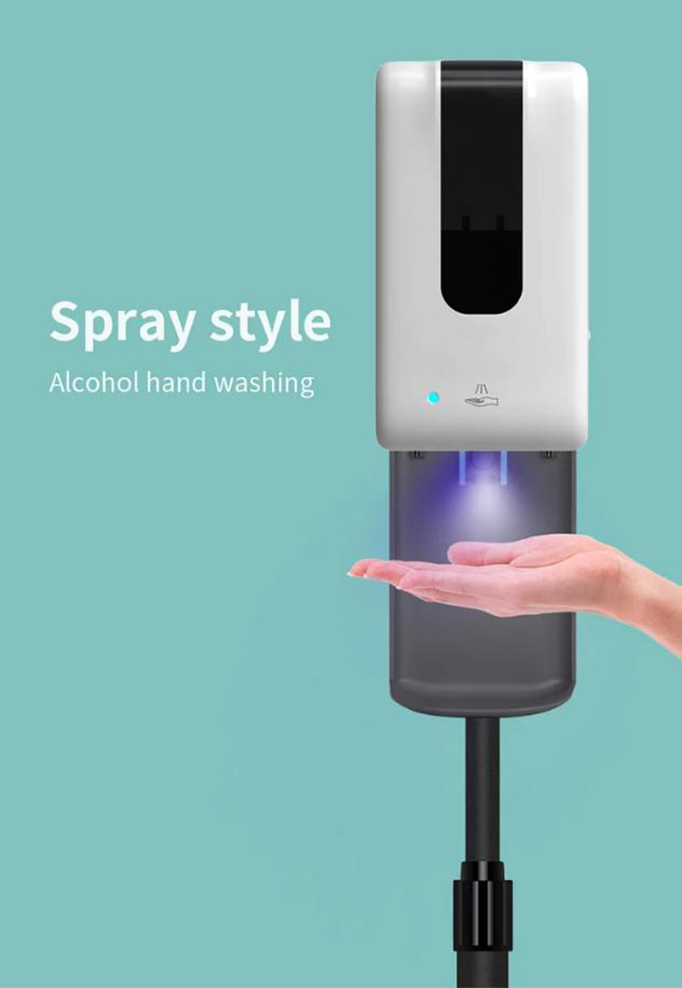 Mobile Automatic Induction Sterilizer Spray Droplet Foam Three Styles For Restaurant Home School Use