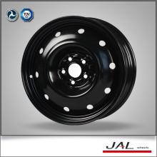 16 polegadas design de moda rodas pretas jante carro com 5 Lug