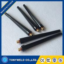 Piezas de antorcha de soldadura tig enfriadas por aire Serie WP-9 para el casquillo de espalda larga