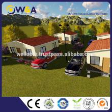 (WAS1013-36D)Prefabricated Buildings Luxury Steel Modular Villa for Home Design