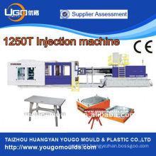 1250T CE/ISO cerficicated large injection plastic moulding machine manufacturer in China