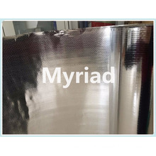 Double side Aluminum woven fabric with PE insulation manufacturer