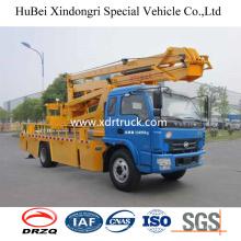 18m Yuejin Aerial Bucket Platform Truck