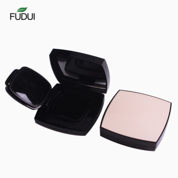 New design square compact powder case with mirror