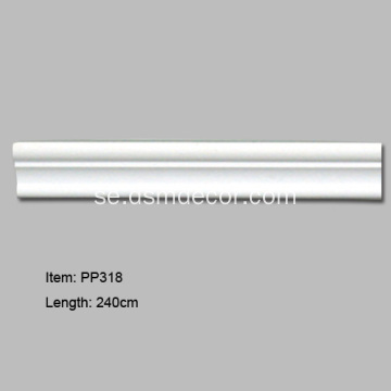 Plain baseboard Panel Mouldings