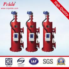 20micron 15-900m3 / H 220V50Hz Ss304 Filtro de água de auto limpeza