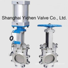 Pneumatic Lug Stainless Steel Knife Gate Valve