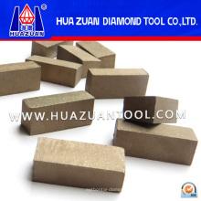 Алмазные режущие инструменты Сегмент сэндвич, резка мрамора (HZ392)