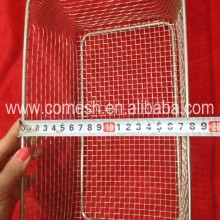 304 Stainless Steel Wire Mesh Bread Basket
